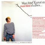 Interview Maxi Magazine – Razzo Campanelli Berlin Biennale 2006