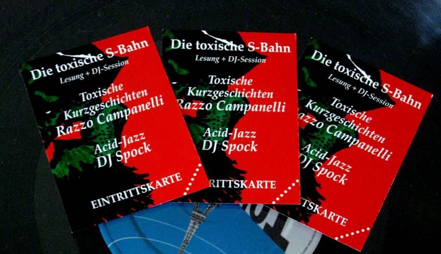 Tickets für die toxische S-Bahn